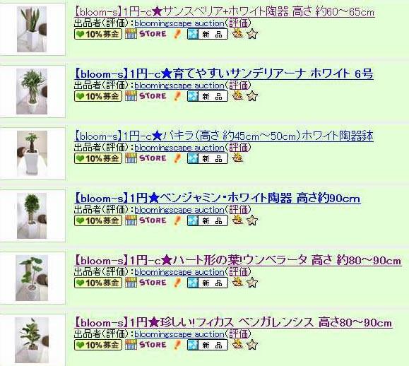 1円チャリ ティーオークション