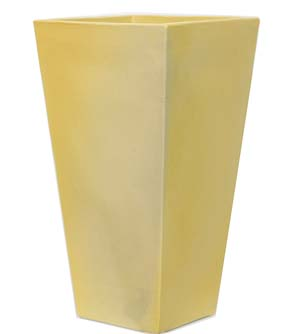陶器鉢 黄色