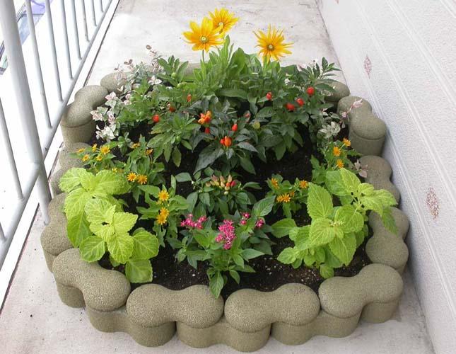 屋上庭園を作る