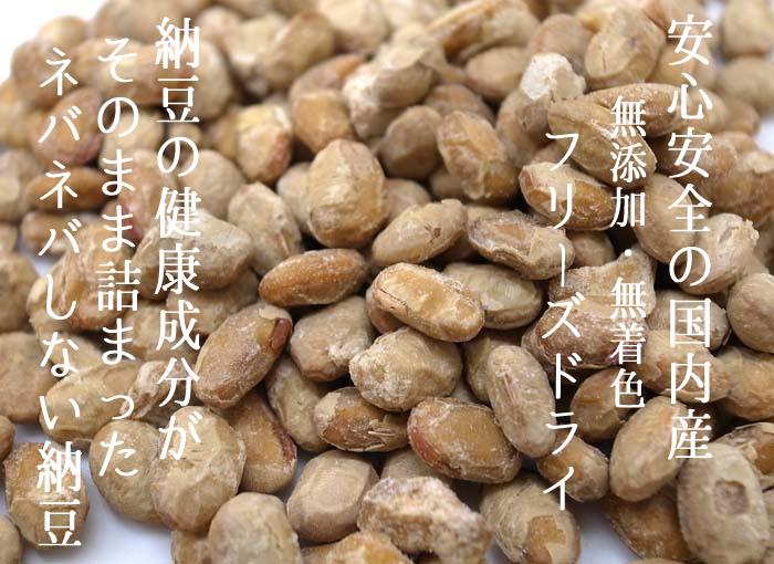 フリーズドライ 納豆