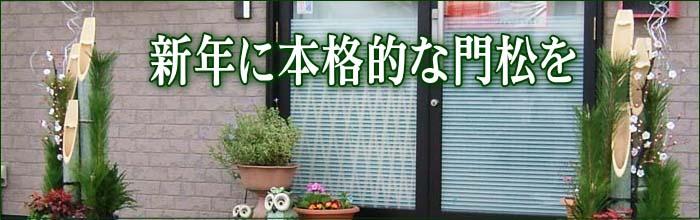 門松&松竹梅 販売 通販