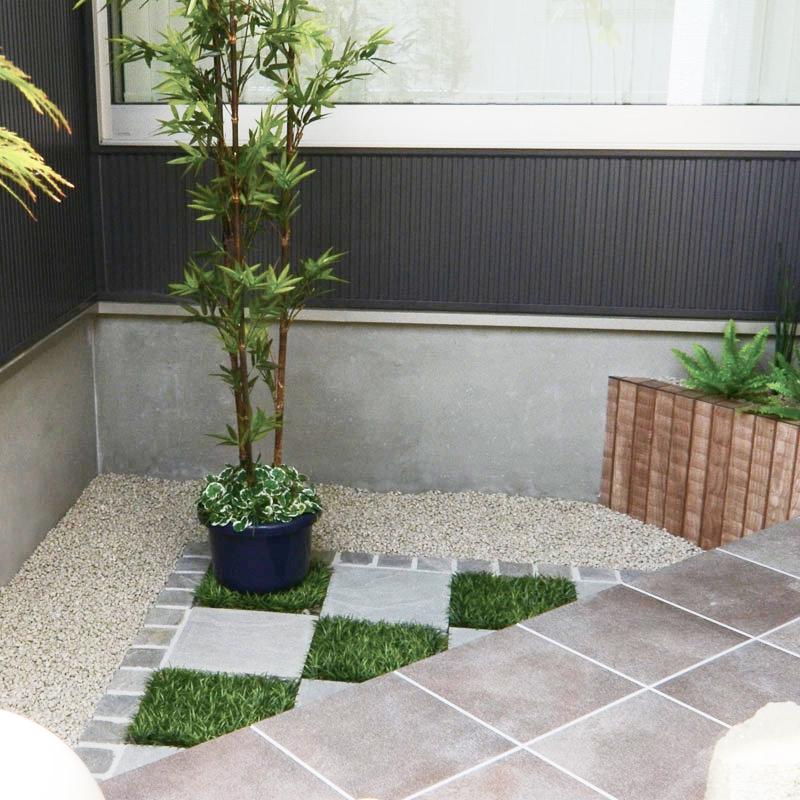 人工和風植栽 アル銘竹
